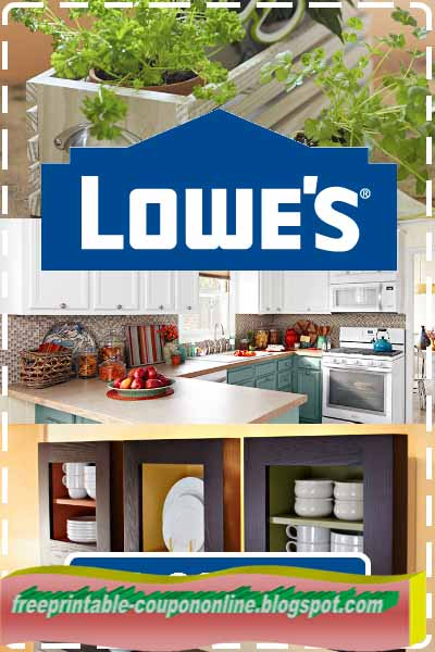 Lowe's home improvement coupons 2018