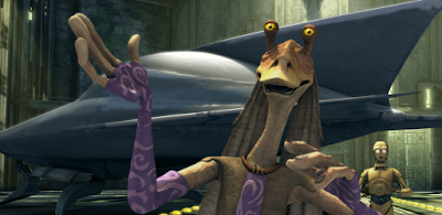 jar jar binks in the clone wars