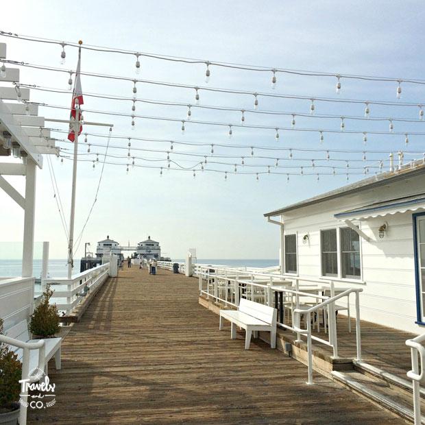 Ruta en coche por la costa oeste de Estados Unidos Malibu Pier