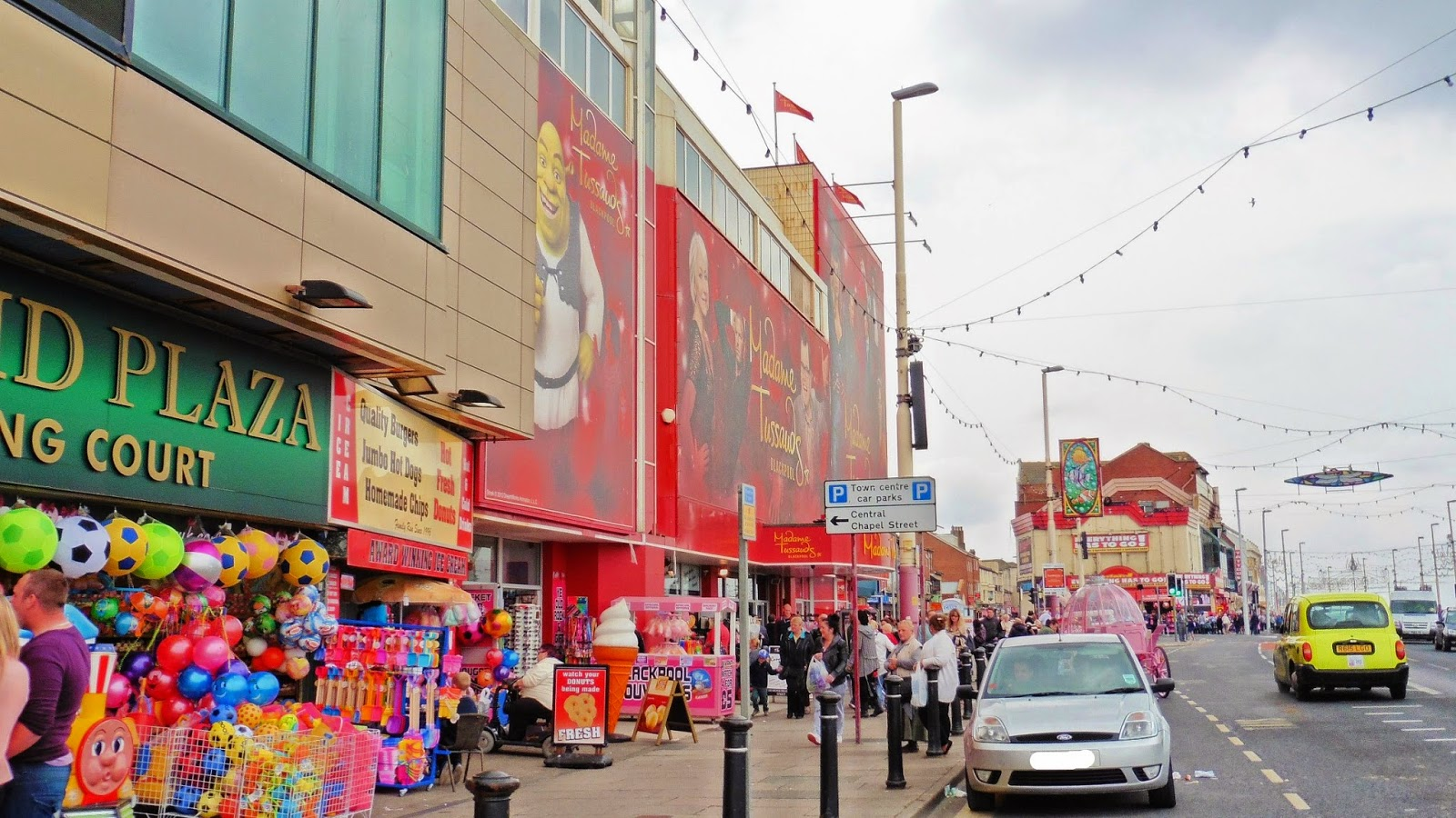 Madame Tussauds Blackpool, Wax Museum, Family Day Out
