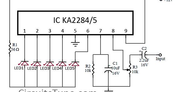 vu meter 4 wiring diagram