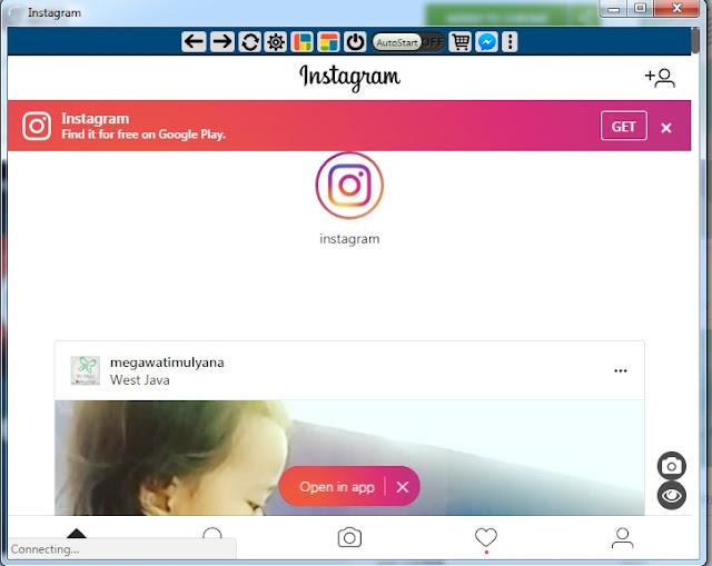 Gunakan Instagram Web Untuk PC Melalui Instagram For Chrome