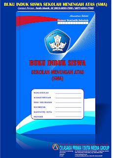 Buku Induk Siswa SMA Kurikulum 2013,Buku Induk Siswa SMA,Buku Induk SMA,jual Buku Induk SMA,harga Buku Induk SMA,grosir Buku Induk SMA,buku administrasi sekolah