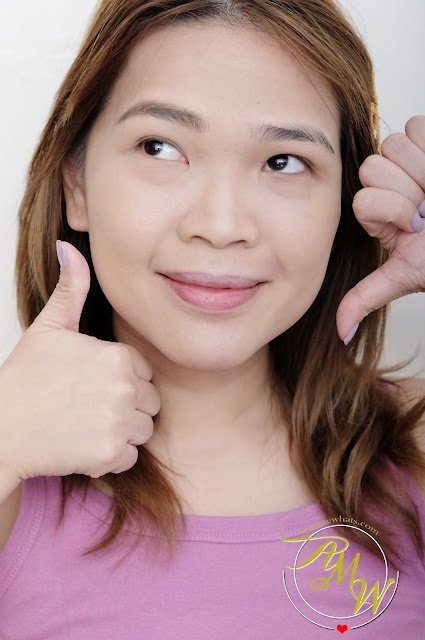 a photo of askmewhats wearing Benefit Foolproof Brow Powder