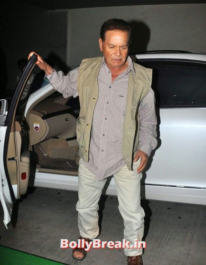 Salim Khan, 'Humshakals' Movie Special Screening Pics