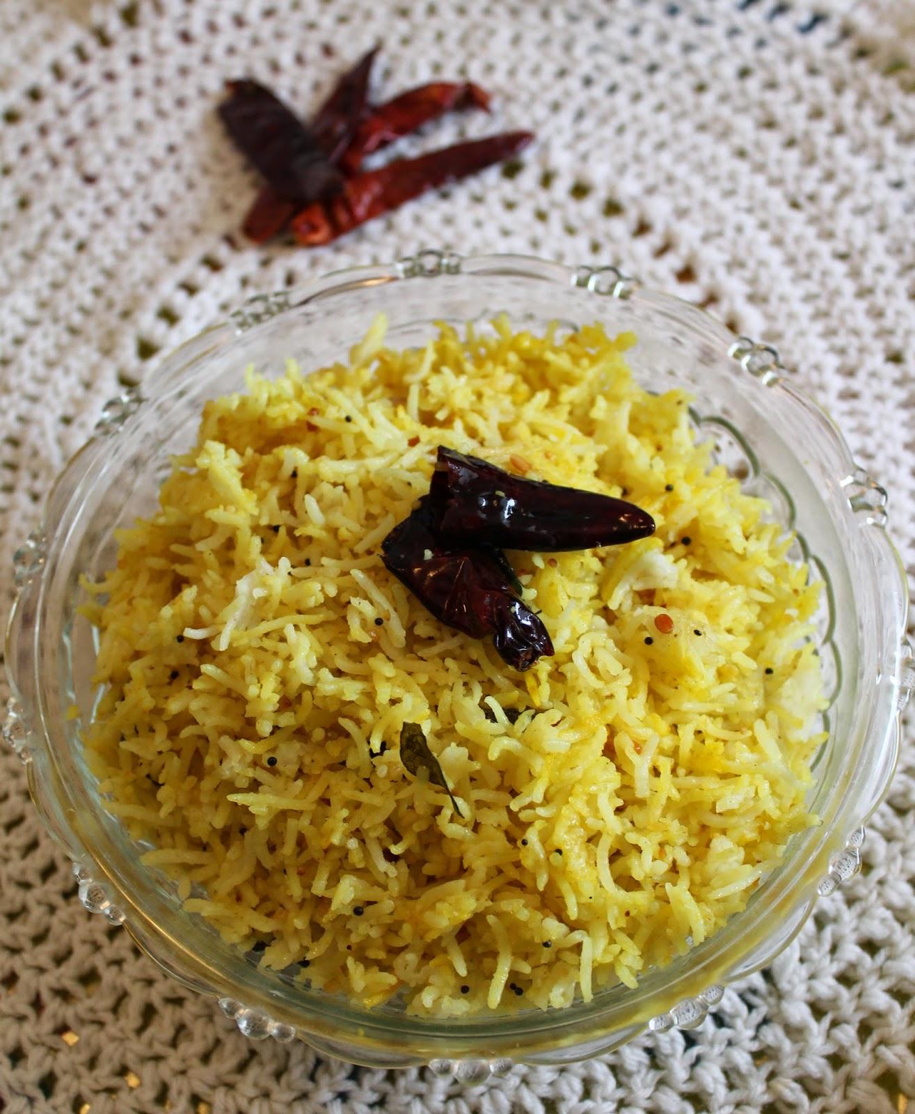 My Kitchen's Aroma: South Indian Tava Rice