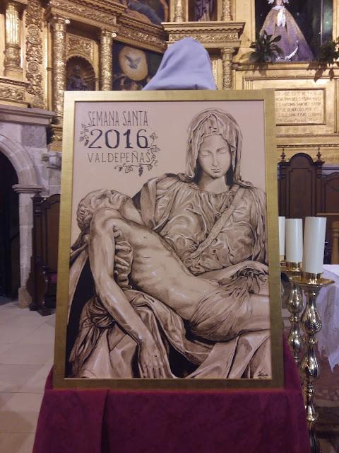 Cartel de Semana Santa Valdepeñas 2016