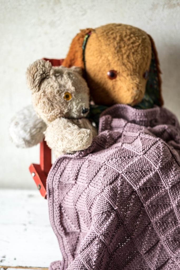 DIY: Babydecke aus Baumwolle selber stricken by fim.works