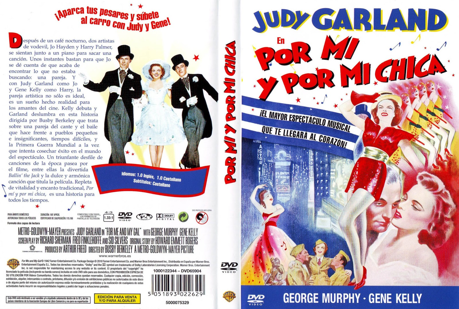 Por mi chica y por mi ( 1942 ) For me and my gal Descargar y ver Online Gratis