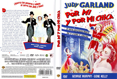 Cover, dvd, caratula: Por mi chica y por mí | 1942 | For Me and My Gal