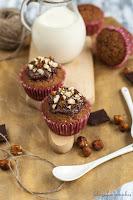 Babeczki czekoladowe z Nutellą