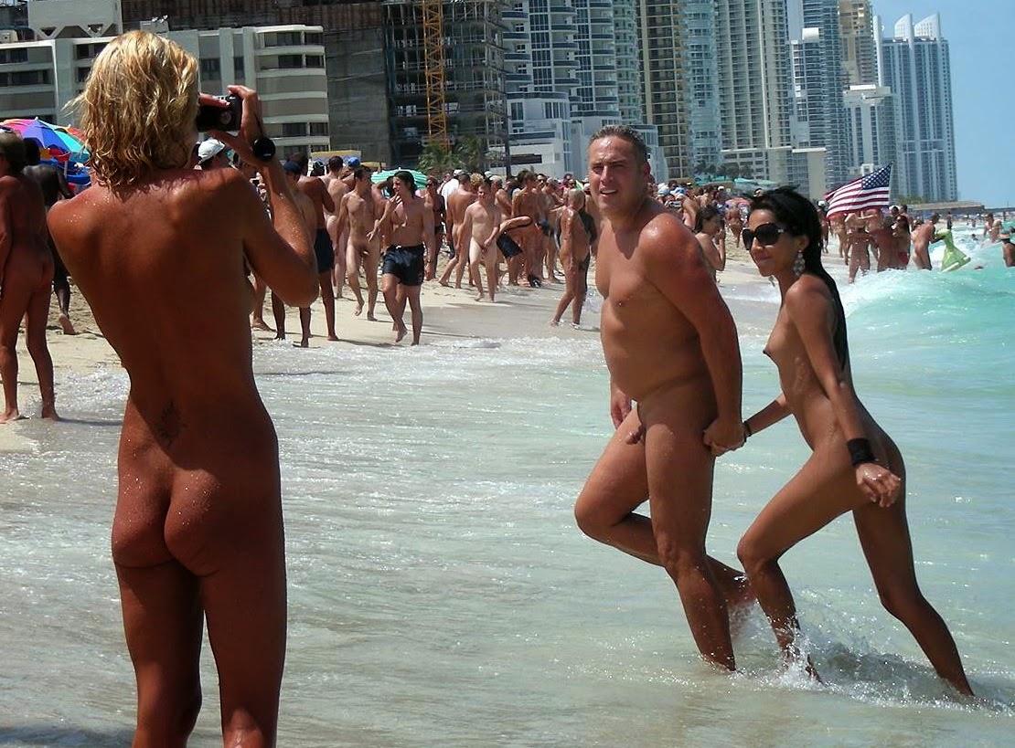 naked beach couples photos