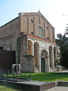 The Church of the Eremitani in Padua