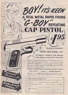 G-Boy Repeating Cap Pistol