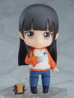 """Nendoroid Shirase Kobuchizawa de """"Uchuu Yorimo Toi Basho"""" - Good Smile Company"""