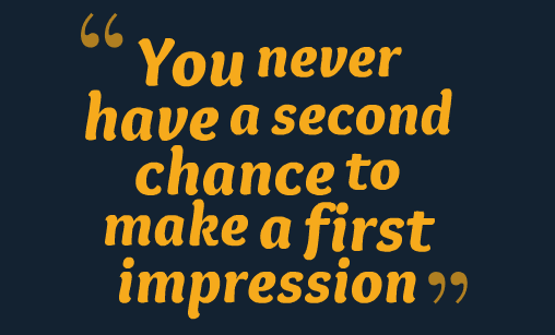 8 PERSONAL HABITS THAT WILL ENSURE A GOOD FIRST IMPRESSION