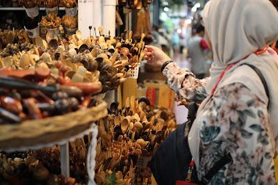 Chatuchak Market, Bangkok Penuh Dengan Manusia