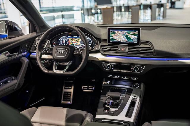 Novo Audi Q5 2017 - interior