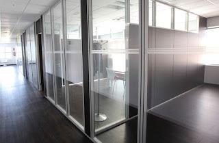 Cerramientos de oficinas en Zaragoza