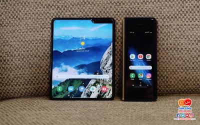 مواصفات وسعر موبايل Samsung galaxy fold القابل للطى الجديد من سامسونج