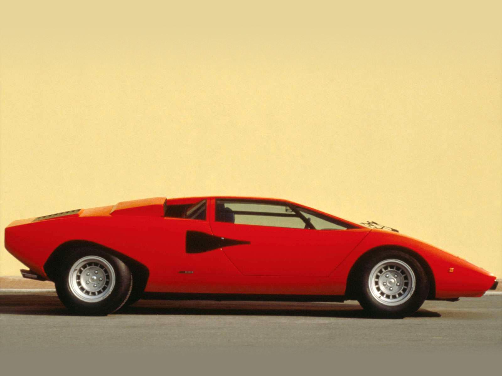 1985 Countach Quattrovalvole Lamborghini Pictures
