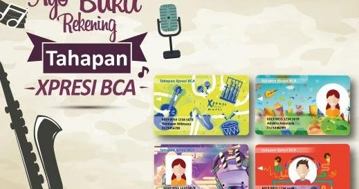 Kartu ATM Tahapan Xpresi BCA Edisi Musik Makin Keren ...