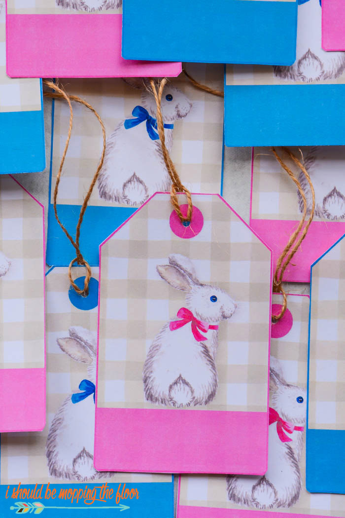 Easter Basket Labels