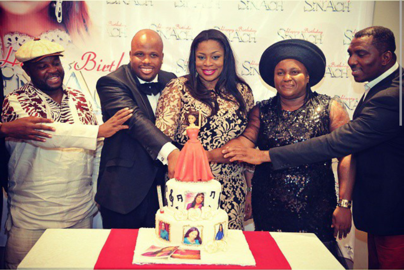 sinach birthday party