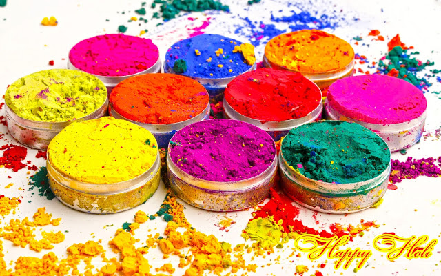 Happy Holi facebook cover pic hd download