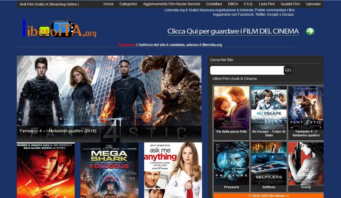 Film gratis online senza registrazione