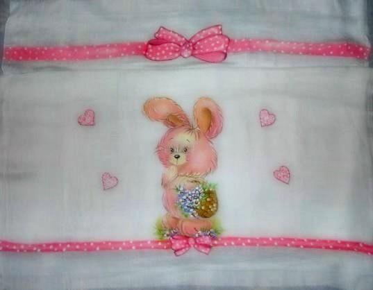 pintura em tecido fralda