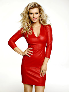 Beautiful Joanna Krupa In Red Skirt