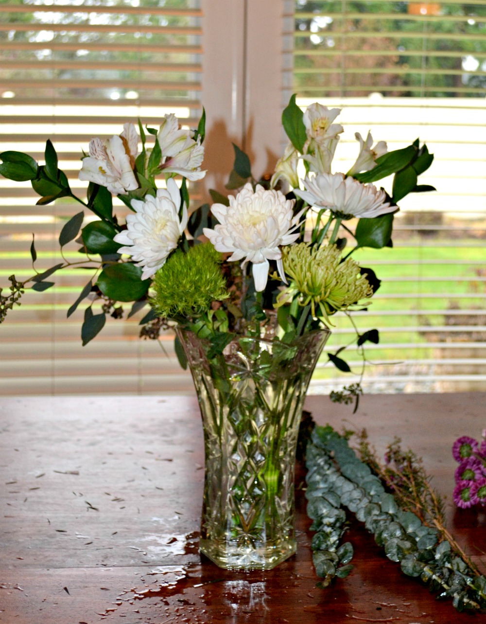 How to Arrange Grocery Store Flowers to look like Flower Shop ...