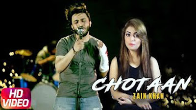 Chotaan Lyrics - Zain Khan | Latest Punjabi Song 2017 | Speed Records