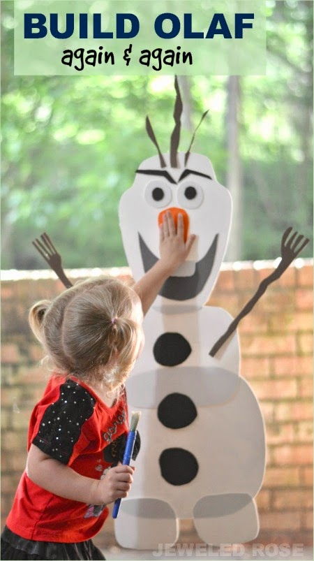 Build olaf diy toy growing a jeweled rose for I want to make a snowman