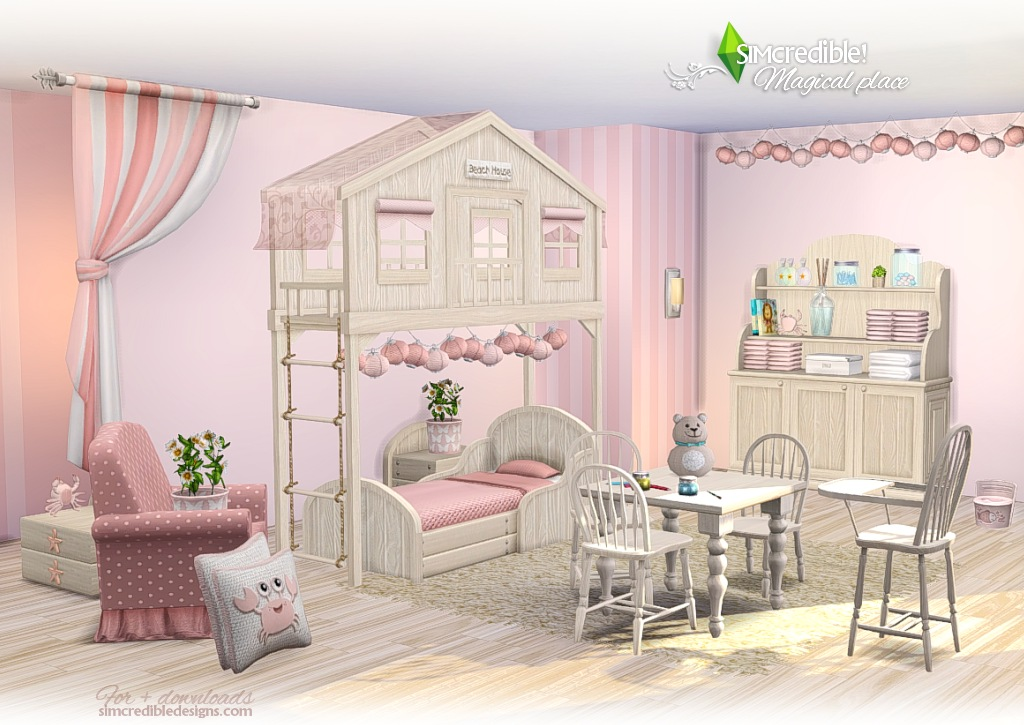 My Sims 4 Blog Magical Place Toddler S And Kid S Room Set
