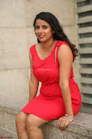 Shravya Reddy in Short Tight Red Dress Spicy Pics ~  Exclusive Pics 094.JPG
