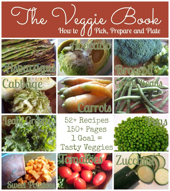 The Veggie Book is now on SALE