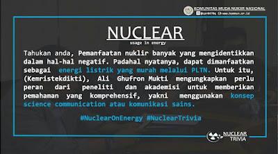 Pemanfaatan Ilmu Komunikasi di Bidang Nuklir untuk Menaikan Public Acceptance
