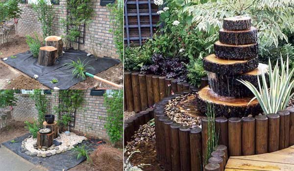 Ideas About Wooden Garden Fountains Decor Units
