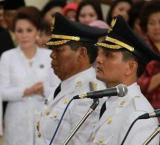 Bupati dan Wakil Buipati Bolmong.