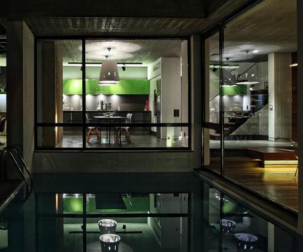 rumah minimalis tampak depan dengan batu alam 1 lantai