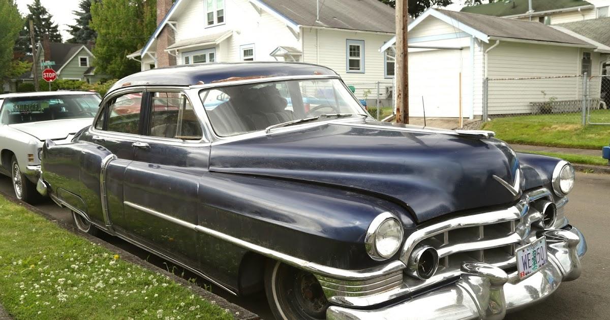 old parked cars 1950 cadillac sedan de ville. Black Bedroom Furniture Sets. Home Design Ideas