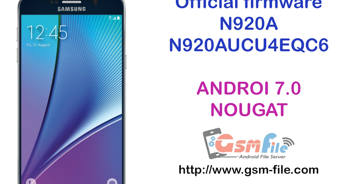 Download official Nougat N920AUCU4EQC6 update for AT&T Note