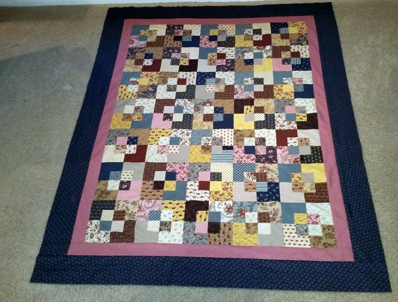 52 Quilts in 52 Weeks: 2016-02-28 : five and dime quilt - Adamdwight.com
