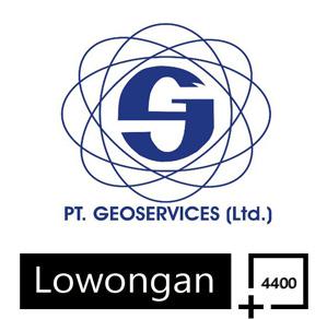 Lowongan Kerja PT Geoservices Terbaru