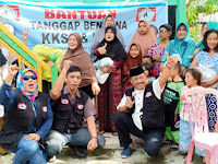 KKSS Dan IWSS Salurkan Bantuan Korban Banjir Ke Sejumlah Wilayah Pangkep