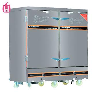 Tủ Nấu Cơm Gas Và Điện 24 Khay –TC24K-GĐ