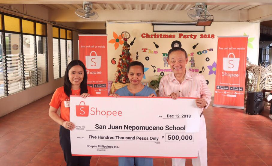 Shopee, Jose Mari Chan give back with donation drive