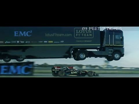 Amazing World-Record Truck Jumping Video